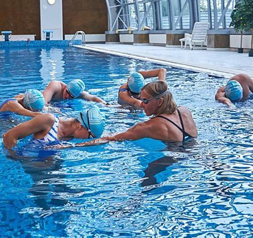 Курс тренер <br>по плаванию
